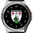 Northwood FC Round Metal Watch