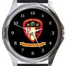 Hayes & Yeading United FC Round Metal Watch