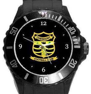 Cheshunt FC Plastic Sport Watch In Black