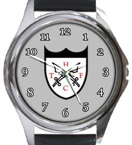 Hanwell Town FC Round Metal Watch