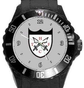 Hanwell Town FC Plastic Sport Watch In Black