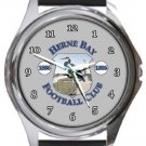 Herne Bay FC Round Metal Watch