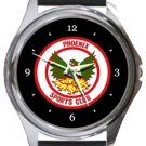 Phoenix Sports FC Round Metal Watch