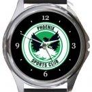 Phoenix Sports Club Round Metal Watch
