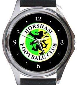 Horsham FC Round Metal Watch