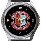 Hastings United FC Round Metal Watch