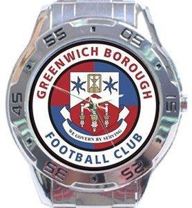 Greenwich Borough FC Analogue Watch