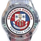 Greenwich Borough FC Analogue Watch