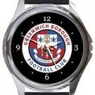 Greenwich Borough FC Round Metal Watch