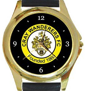 Cray Wanderers FC Gold Metal Watch