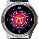 Sutton Common Rovers FC Round Metal Watch