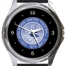 Colliers Wood FC Round Metal Watch