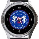 Raynes Park Vale FC Round Metal Watch