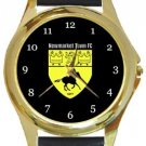 Newmarket Town FC Gold Metal Watch