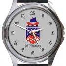 FC Clacton Round Metal Watch