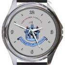Thetford Town FC Round Metal Watch