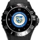 Woodford Town FC Plastic Sport Watch In Black