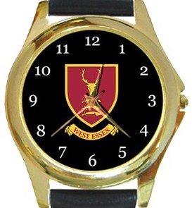 West Essex FC Gold Metal Watch