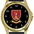 West Essex FC Gold Metal Watch