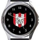Clapton FC Round Metal Watch