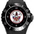 Sawbridgeworth Town FC Plastic Sport Watch In Black