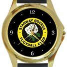 Stanway Rovers FC Gold Metal Watch