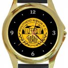 Southend Manor FC Gold Metal Watch