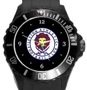 Leyton Athletic FC Plastic Sport Watch In Black