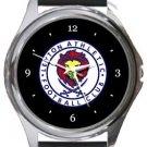 Leyton Athletic FC Round Metal Watch
