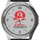 St Margaretsbury FC Round Metal Watch