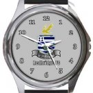 Redbridge FC Round Metal Watch