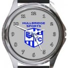 Hullbridge Sports FC Round Metal Watch