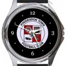 Hoddesdon Town FC Round Metal Watch
