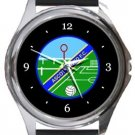 Ascot United FC Round Metal Watch