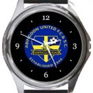 Abingdon United FC Round Metal Watch