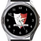 Longlevens AFC Round Metal Watch