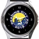 Reading City FC Round Metal Watch