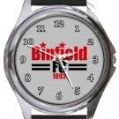 Binfield FC Round Metal Watch