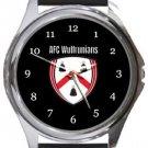 AFC Wulfrunians Round Metal Watch