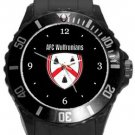 AFC Wulfrunians Plastic Sport Watch In Black