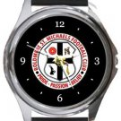 Boldmere St Michaels FC Round Metal Watch