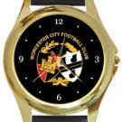 Worcester City FC Gold Metal Watch