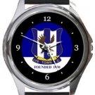 Lye Town FC Round Metal Watch