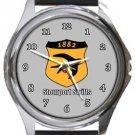 Stourbridge Swifts FC Round Metal Watch