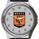 Wolves Sporting CFC Round Metal Watch