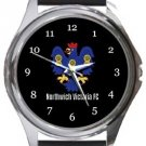 Northwich Victoria FC Round Metal Watch