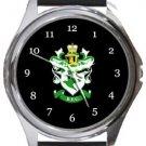 Burscough FC Round Metal Watch