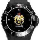 Silsden FC Plastic Sport Watch In Black