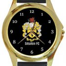 Silsden FC Gold Metal Watch
