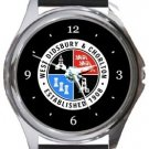 West Didsbury & Chorlton AFC Round Metal Watch